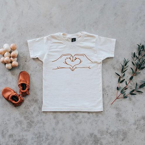 Heart Hands Organic Baby & Kids Tee