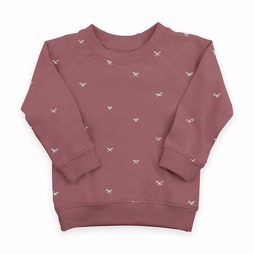 Preorder Portland Pullover - Bow Print