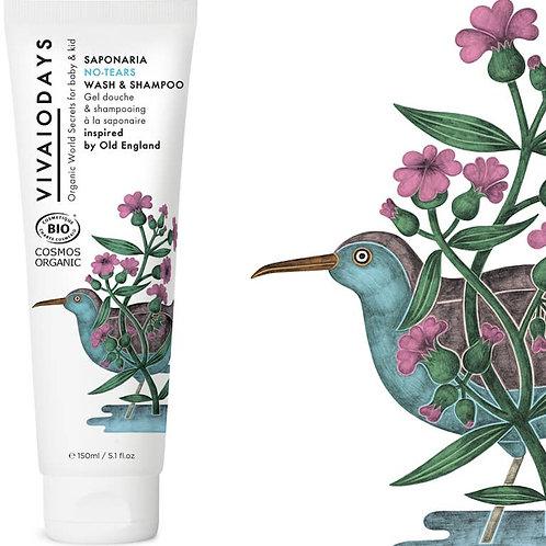 Saponaria 2-in-1 No-tears Wash & Shampoo