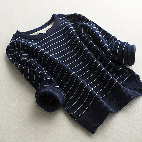 Stripe lightweight sweater