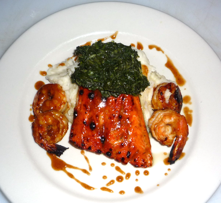 Teriyaki Salmon & Shrimp