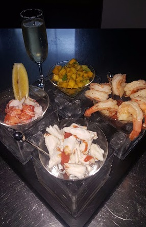 Lobster, Jumbo Lump Crab & Shrimp Cocktail w_ Mango-Avocado Relish
