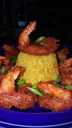 Mambo Shrimp & Yellow Rice