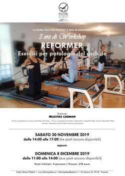 2019 Spine dysfunctions REFORMER