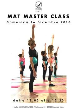 Master Class con mini ball 2018