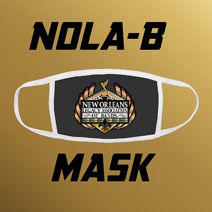 NOLA-B Logo Mask