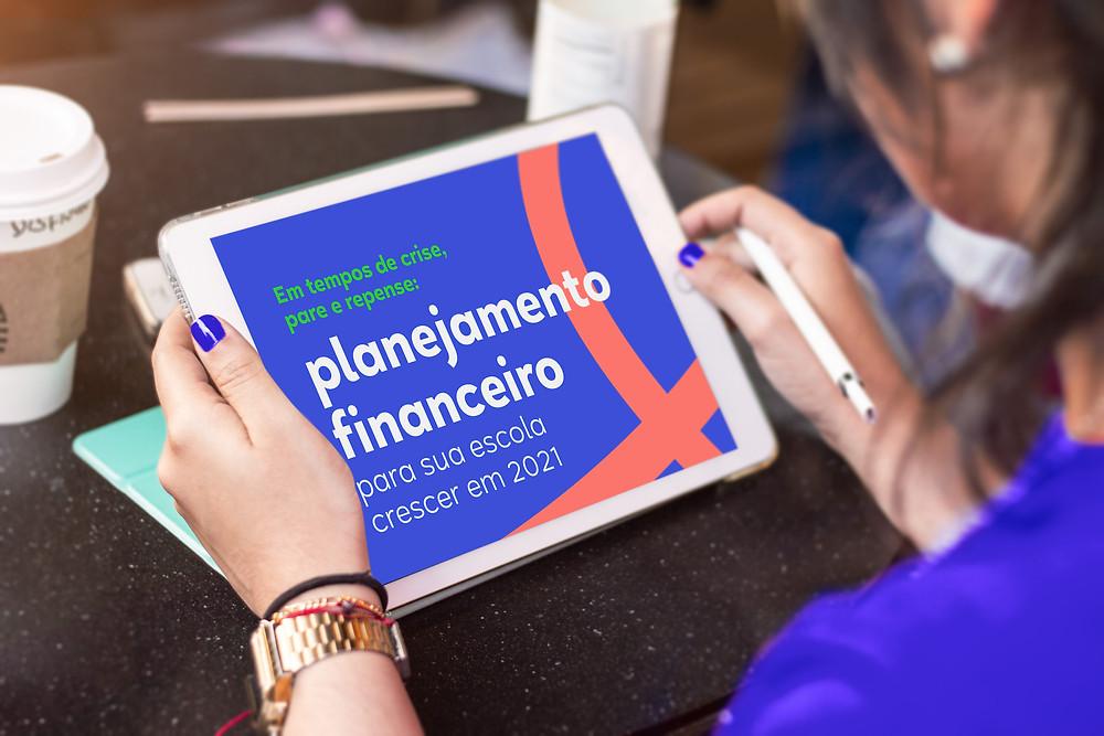 ebook sobre planejamento financeiro para escolas no momento de crise
