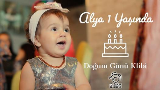 Alya 1 Yaşında