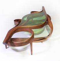 Çarprazdan Low Leaf Table