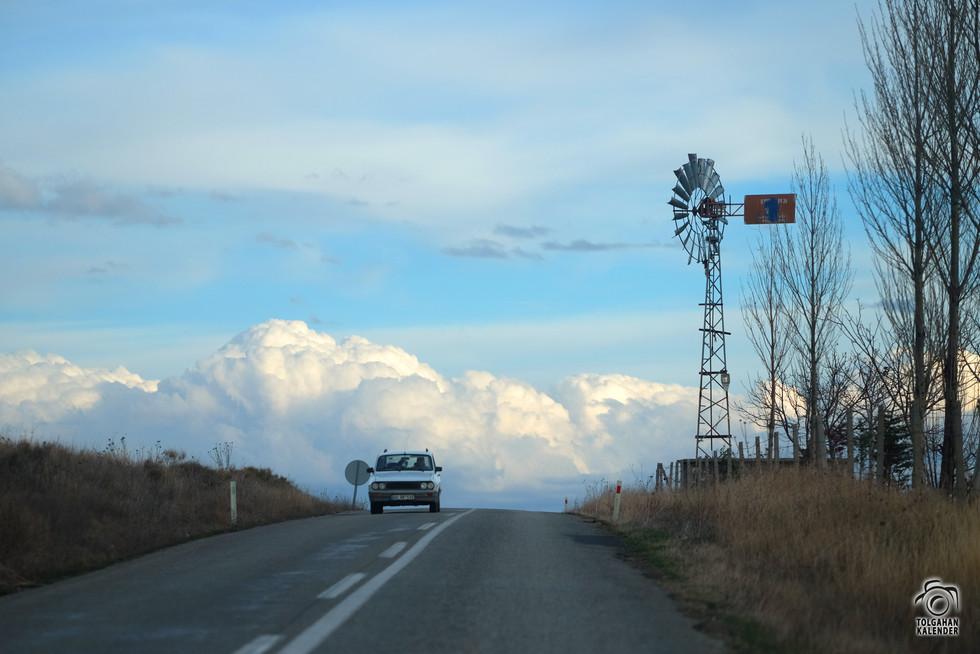 Bir Kırşehir Yol Manzarası