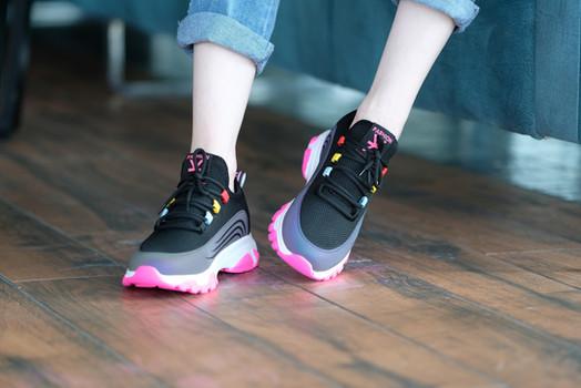 Renkli Spor Ayakkabı - Aker