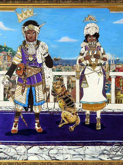 Le' Royals Original Painting