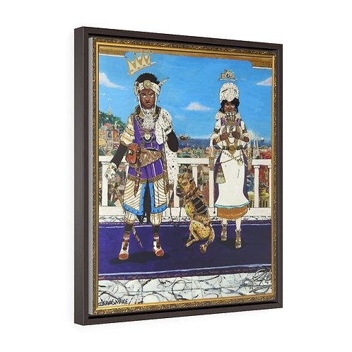 Le' Royals Framed Repreduction 20 X 24