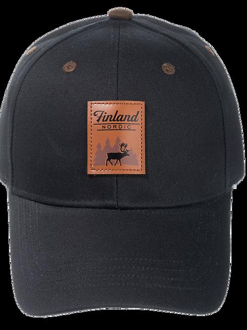 Finland Cap Reindeer Leather Stamp | Suomi Lippis Poro Nahka Merkki