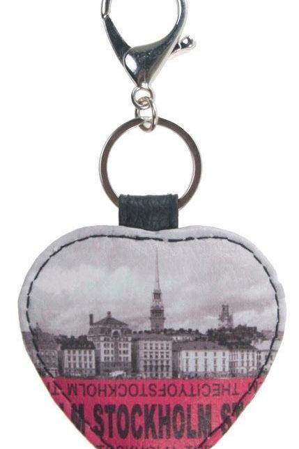 C35B / Key Chain Leatherette Stockholm