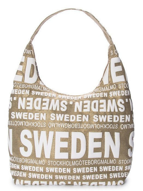 N1H / City Bag Floral Sweden