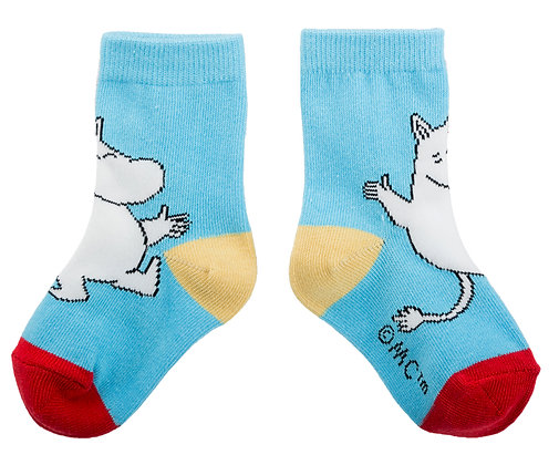 Moomin Socks Moomintroll Baby | Muumi Sukat Muumipeikko Vauvat