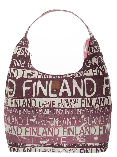 Finland Shoulder Bag Large Reindeer | Suomi Olka Laukku Suuri Poro