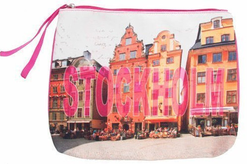 C32A / Canvas Clutch Stockholm