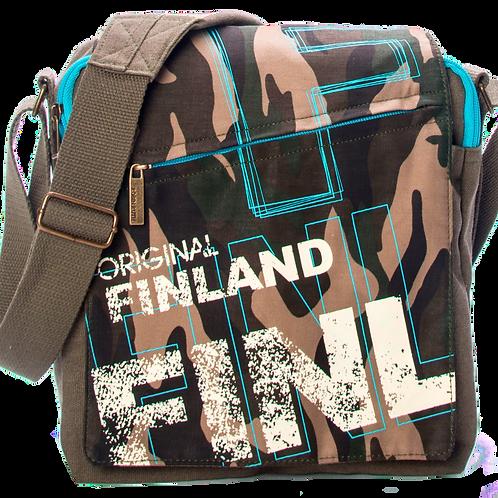 Finland Shoulder Bag Camo | Suomi Olka Laukku Maasto Kuvio