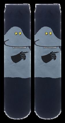 Moomin Socks Groke Adult | Muumi Sukat Mörkö Aikuiset