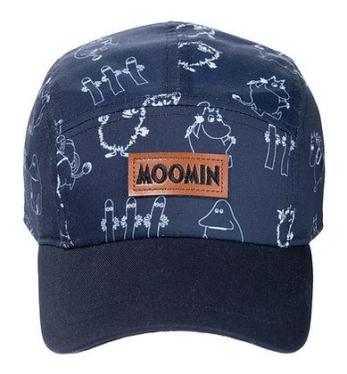 Moomin Kids Cap Navy