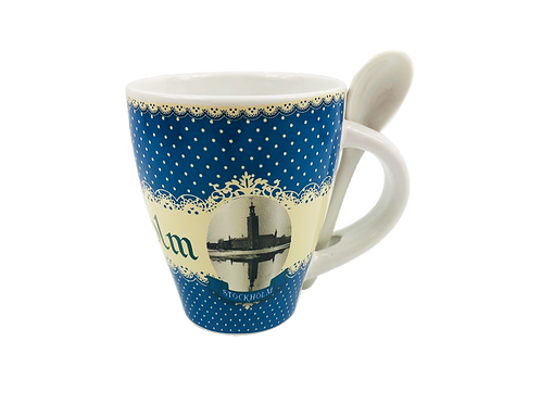 C99B / Mug Vintage Stockholm