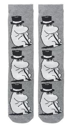 Moomin Socks Moominpappa Adult   Muumi Sukat Muumipappa Aikuiset