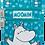 Moomin Bag Moomintroll Small | Pieni Muumi Laukku Muumipeikko