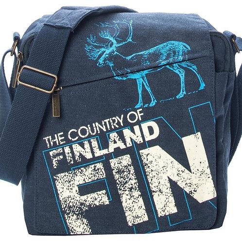 Finland Shoulder Bag Reindeer | Suomi Olka Laukku Poro