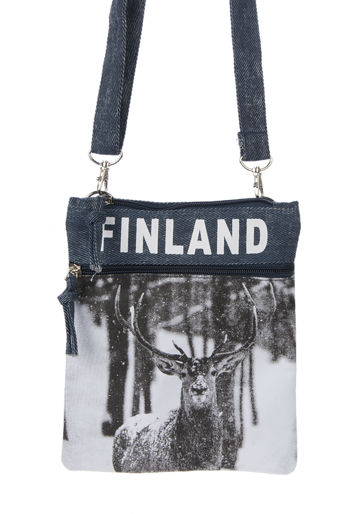 Finland Shoulder Bag Winter | Suomi Olka Laukku Talvi