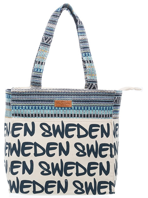 N3L / Canvas Bag Small Natural Sweden