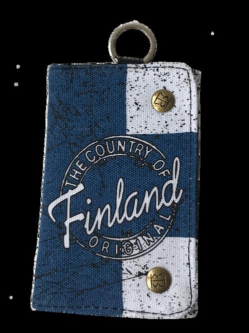 Finland Wallet Finnish Flag | Suomi Lompakko Suomen Lippu