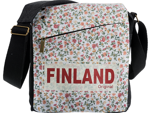 Finland Shoulder Bag Flower | Suomi Olka Laukku Kukka
