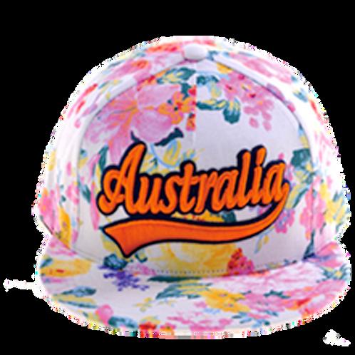 Australia Cap Summer Style Floral | Australia Lippis Kesä Tyyli Kukallinen