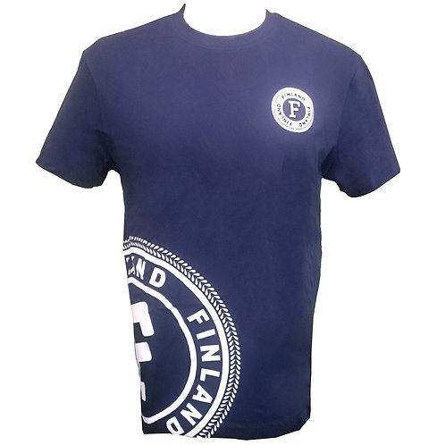 Finland T-shirt Men Finland Logo | Suomi T-paita Miehet Suomi Logo