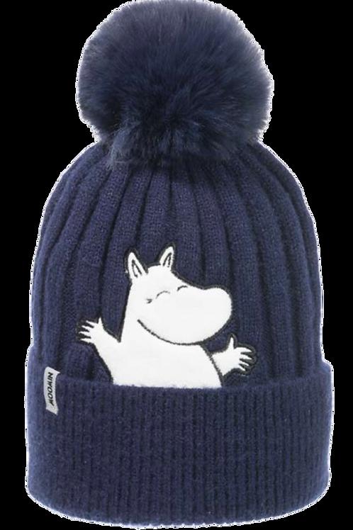 Moomin Winter Hat Moomintroll Kids | Muumi Talvihattu Muumipeikko Lapset