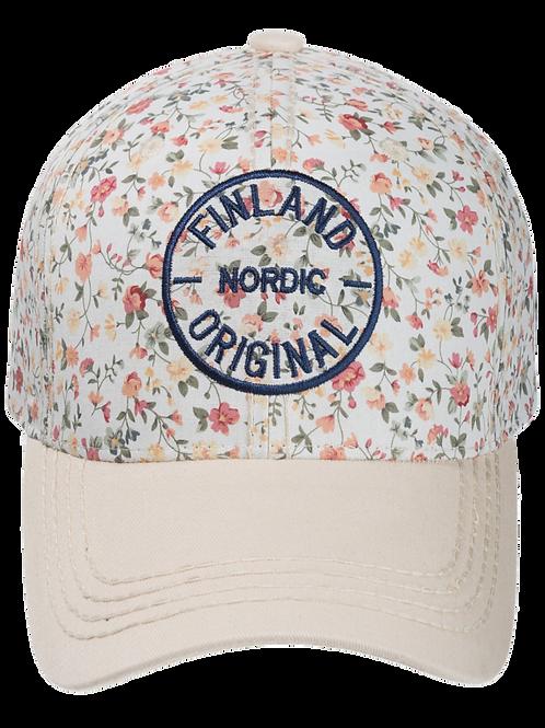 Finland Cap Floral | Suomi Lippis Kukallinen