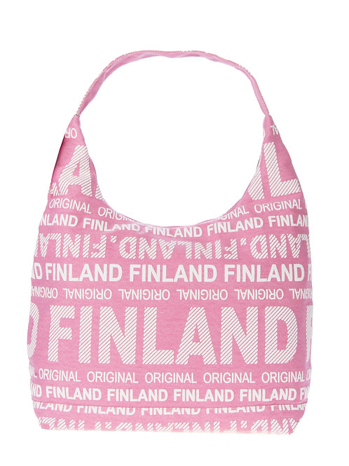 Finland Shoulder Bag Large Pink | Suomi Olka Laukku Suuri Vaaleanpunainen
