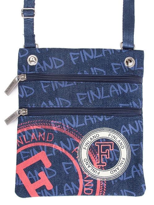 Finland Shoulder Bag Small Stamp | Suomi Olka Laukku Pieni Leima