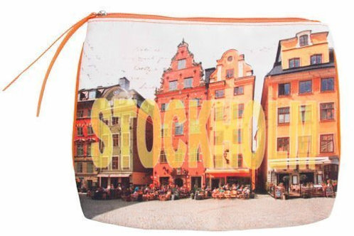 C32B / Canvas Clutch Stockholm
