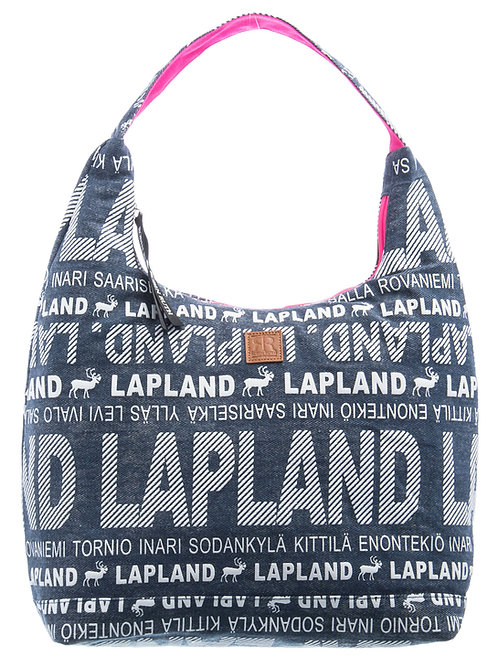 Lapland Shoulder Bag Reindeer Denim | Lappi Olka Laukku Poro Denim