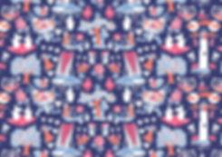 Moomin pattern Tove Jansson | Muumi kuvio
