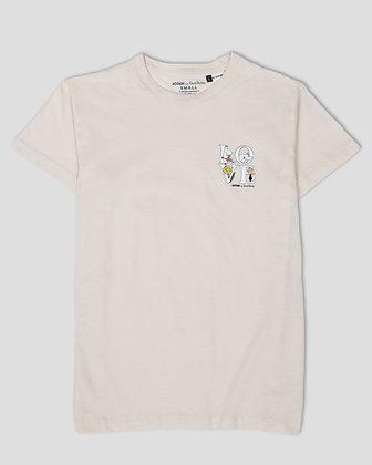 Moomin Alphabets; Love T-shirt