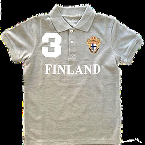 Finland T-shirt Kids Finnish Flag | Suomi T-paita Lapset Suomen Lippu