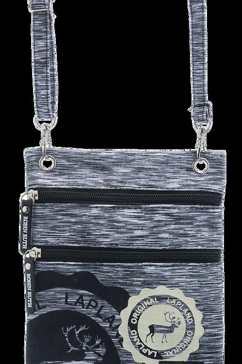 Lapland Shoulder Bag Small Reindeer Stamp | Lappi Olka Laukku Pieni Poro Leima