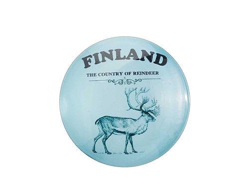 Finland Magnet Reindeer Souvenir Gift | Suomi Magneetti Poro Matkamuisto Lahja