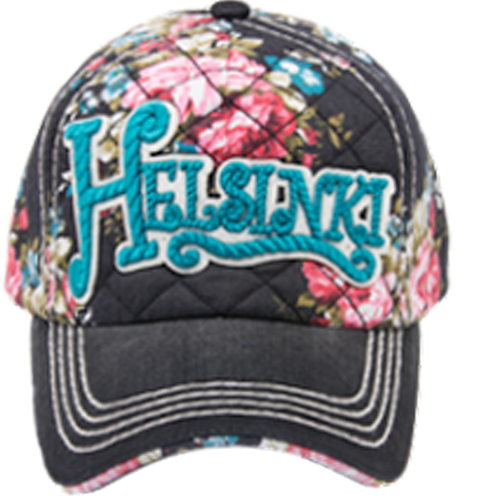 H12G / Cap Floral Helsinki