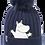 Moomin Winter Hat Moomintroll Adult | Muumi Talvihattu Muumipeikko Aikuiset