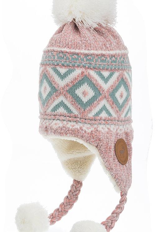 Finland Bon Bon Hat Leather Stamp Winter Fashion | Suomi Tupsu Pipo Nahka Merkki Talvi Muoti